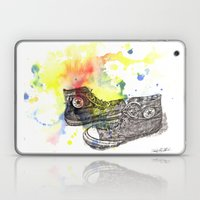 Converse Sneakers Painting Laptop & iPad Skin