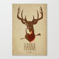 HANNA Film Tribute Poste… Canvas Print