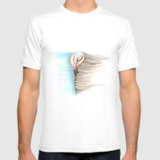 Warm Breeze Mens Fitted Tee White SMALL