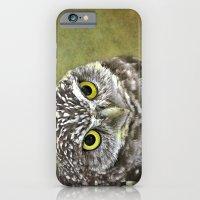 iPhone & iPod Case featuring Burrowing Owl  by LudaNayvelt