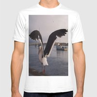 Rat of the Ocean Mens Fitted Tee White SMALL