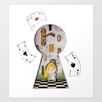 Alice #4 Art Print