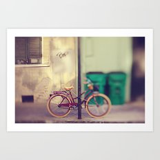 New Orleans Bicycle Art Print