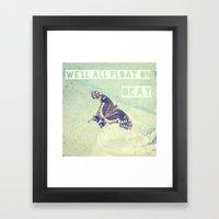 Butterfly Inspiration Framed Art Print