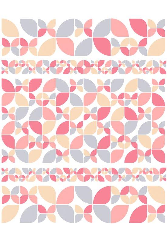 Soft Spring Pattern Canvas Print