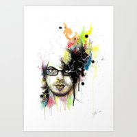 Self-Portrait Art Print