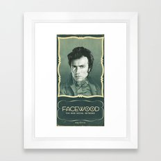 facewood Framed Art Print