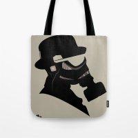 Storm Trooper Gas Mask  Tote Bag
