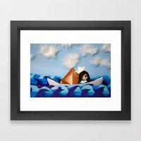 Troy Marinera ~ Sailor Framed Art Print