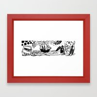 Tristan and Isolde Framed Art Print