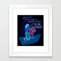Use it up! Framed Art Print