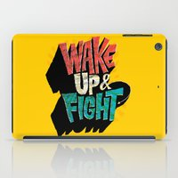 Wake Up And Fight iPad Case