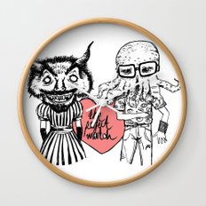 the perfect match Wall Clock