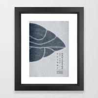 Flight of the Navigator - MINIMALIST POSTER Framed Art Print