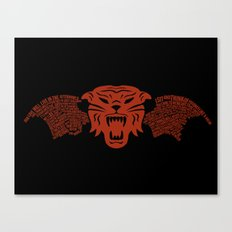 Tiger Army Canvas Print