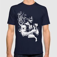 Gear 2 Mens Fitted Tee Navy SMALL