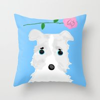 Looking for new family Throw Pillow