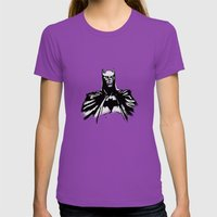 The Dark Bruce Womens Fitted Tee Ultraviolet SMALL