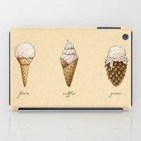 Ice Cream Cones iPad Case