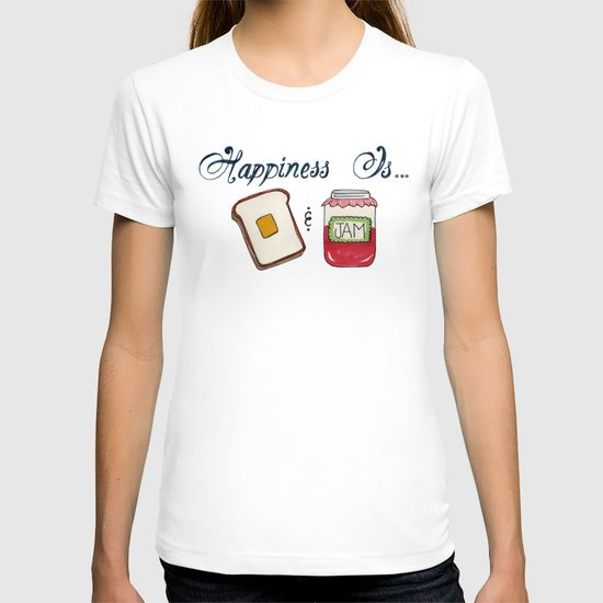 Happiness Is Toast & Jam T-shirt