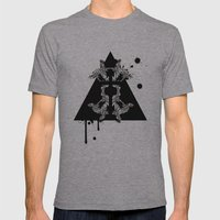 Redemption Mens Fitted Tee Athletic Grey SMALL