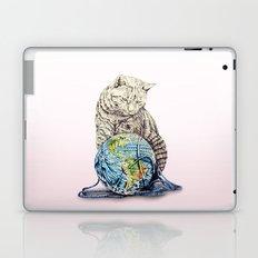 In which our feline deity shows restraint  Laptop & iPad Skin