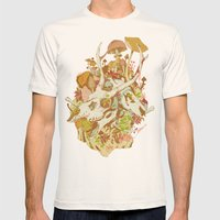 Skulls In Spring Mens Fitted Tee Natural SMALL