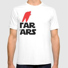 I Heart Star Wars Mens Fitted Tee SMALL White