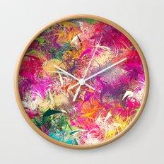 Random Paint Wall Clock
