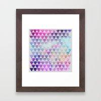 Geo Dream Three Framed Art Print