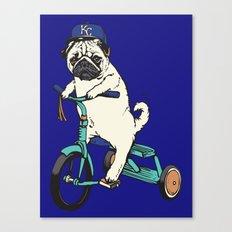 Royals Pug Canvas Print