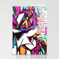 Blockage Stationery Cards