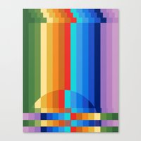 Waterfall Frustration Canvas Print