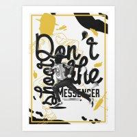 Just Don't - II Art Print