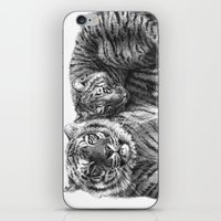 Tiger and Cub G2011-023 iPhone & iPod Skin