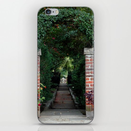 Walk Toward the Light iPhone & iPod Skin
