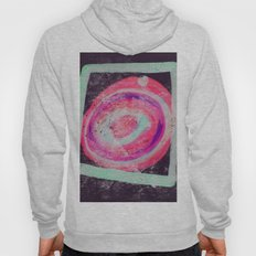 Abstract Green Pink Hoody