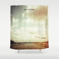 Your Street Shower Curtain