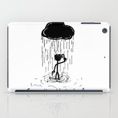 Turn that cloud, upside down! iPad Case