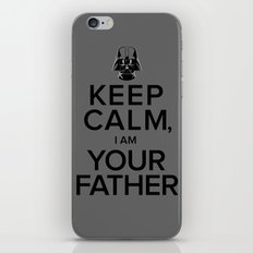 Keep Calm, I Am Your Father iPhone & iPod Skin