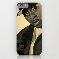 iPhone & iPod Case featuring Pete Rock by Helen Kaur