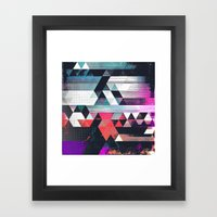 dythyr dysystyr Framed Art Print