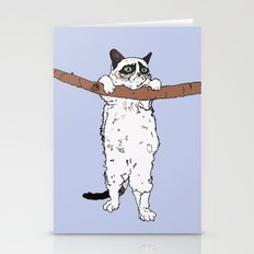 HANG IN THERE, GRUMPY! Stationery Cards