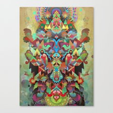 Dæmon [treatment 2] Canvas Print