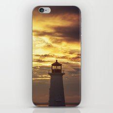 Lighthouse in the Clouds iPhone & iPod Skin