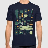 Breaking Bad Mens Fitted Tee Navy SMALL
