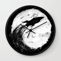 Midnight Delivery Wall Clock