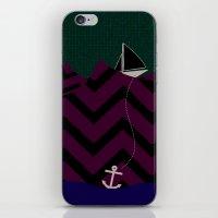Anchor Drop iPhone & iPod Skin