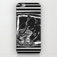 elefante col caffe' iPhone & iPod Skin