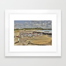 The Harbour at Tenby  Framed Art Print
